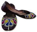 Ladies Khussa- Dark Brown