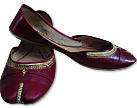 Ladies Khussa- Maroon- Khussa Shoes for Women