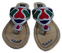Ladies Slip-on Khussa- Silver
