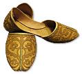Gents Khussa- Golden