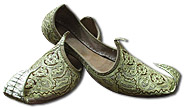 Gents Khussa- Light Golden- Pakistani Khussa for Men