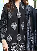 Black Linen Suit- winter wear