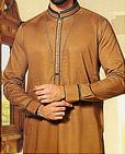 Brown Cotton Suit