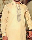 Ivory Cotton Suit