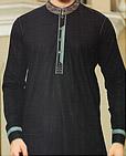 Black Cotton Suit
