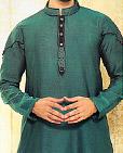 Teal Cotton Suit