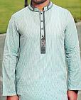 Light Green Cotton Suit