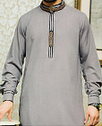 Grey Shalwar Kameez Suit