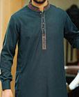 Teal Shalwar Kameez Suit
