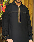 Black Shalwar Kameez Suit
