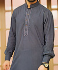 Dark Grey Shalwar Kameez Suit