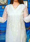 White Cotton Lawn Suit