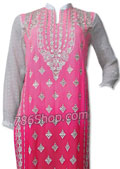 Pink/White Chiffon Suit- Pakistani Chiffon Dress