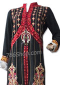 Black Chiffon Suit- Pakistani Chiffon Dress