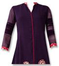 Dark Purple Chiffon Suit - Indian Dress