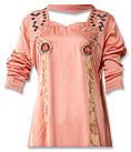 Peach Silk Suit- Indian Dress