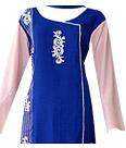 Royal Blue Georgette Suit- Pakistani Casual Clothes