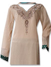 Ivory/Teal Chiffon Suit- Indian Dress