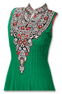 Green Chiffon Suit- Indian Semi Party Dress