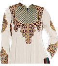 White Georgette Suit- Indian Dress