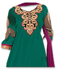 Teal Green Georgette Suit- Indian Dress