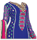 Royal Blue Georgette Suit