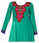 Sea Green Georgette Suit