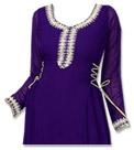 Indigo Georgette Suit- Indian Dress