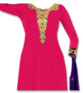 Shocking Pink/Purple Georgette Suit