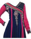 Blue/Pink Chiffon Suit- Indian Dress