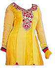 Yellow Chiffon Suit