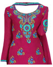 Magenta Georgette Suit- Indian Dress