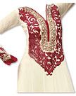 Cream Georgette Suit- Indian Dress