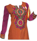 Rust/Purple Chiffon Suit- Indian Dress