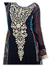 Black/Aqua Georgette Suit
