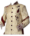 Sherwani 168- Indian Wedding Sherwani Suit