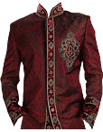 Modern Sherwani 54- Pakistani Sherwani Suit for Groom