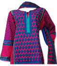 Pink/Blue Khaddar Suit