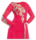Shocking Pink Georgette Suit