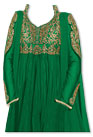 Green Chiffon Suit