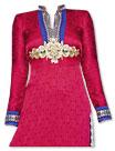 Magenta Jamawar Suit