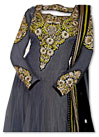 Grey Chiffon Suit- Indian Dress
