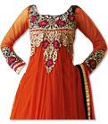 Orange Net Suit