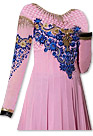 Pink/Blue Georgette Suit