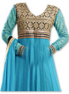 Sky Blue Chiffon Suit- Indian Dress