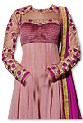 Tea Pink Chiffon Suit- Indian Semi Party Dress