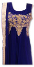 Blue Chiffon Suit- Formal clothing