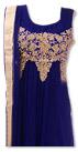 Blue Chiffon Suit