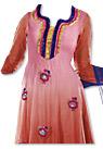 Pink/Peach Chiffon Suit- Indian Dress
