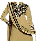 Beige Georgette Suit